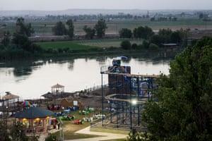A view of the Al Jazeera Umm Rabaen amusement park.