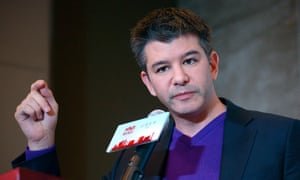 Travis Kalanick, CEO of Uber. The company is defending itself against allegations it stole technology from Waymo.