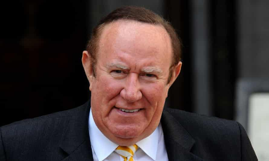 Andrew Neil's tweet was broadcast by the BBC to a global audience