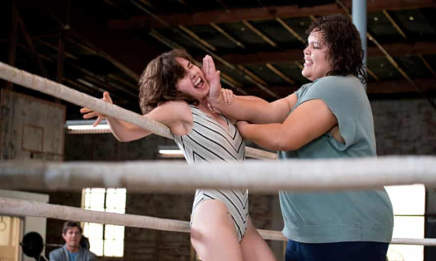 Brie gets a drubbing in GLOW