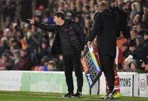 Daniel Stendel was invited to watch Arsenal train by Per Mertesacker.