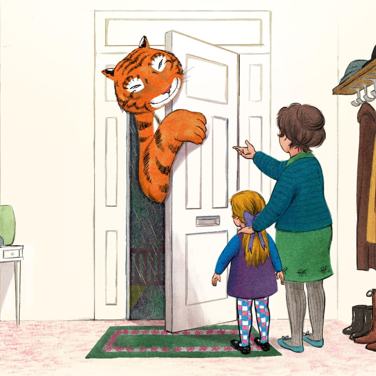 The Tiger Who Came To Tv Animated Classic Tops Children S Festive Listings Animation On Tv The Guardian
