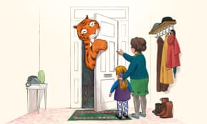 Someone's at the door ... The Tiger Who Came to Tea.