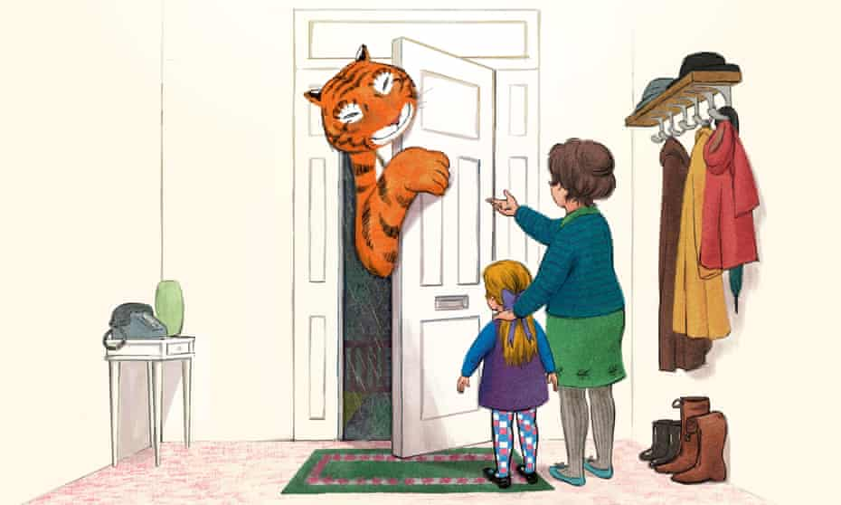 Paws for thought … The Tiger Who Came to Tea