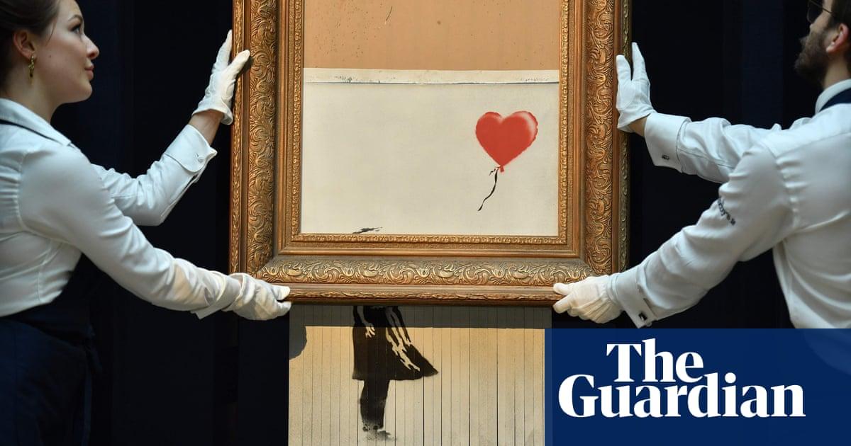 Shredded Banksy artwork goes back under the hammer