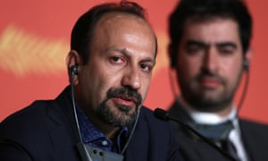 'Terrorists feel they have good reason to be violent' … Asghar Farhadi in Cannes.