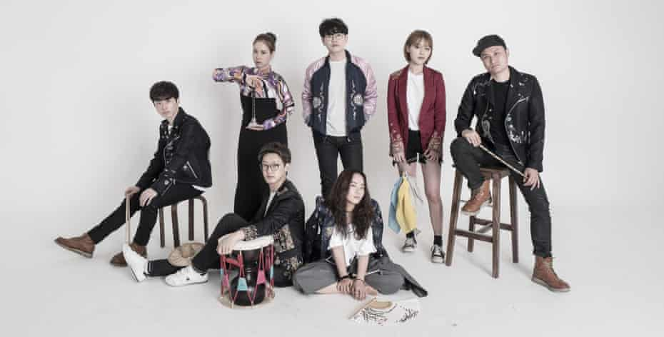 Aux … bringing a taste of K-Music from Korea.