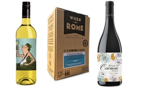 bottles and boxes with eye catching packaging