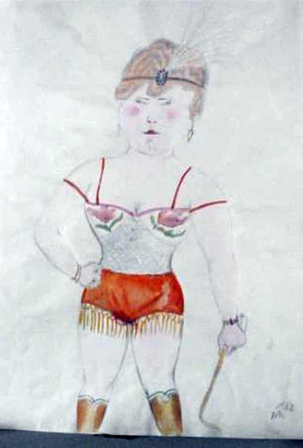 The Tamer by Otto Dix