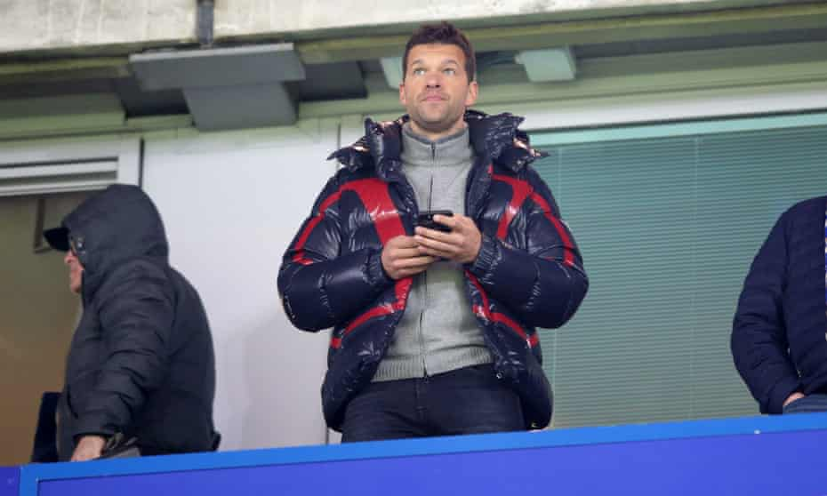 Michael Ballack at Stamford Bridge last year for a Uefa Champions League match between Chelsea and Bayern Munich.