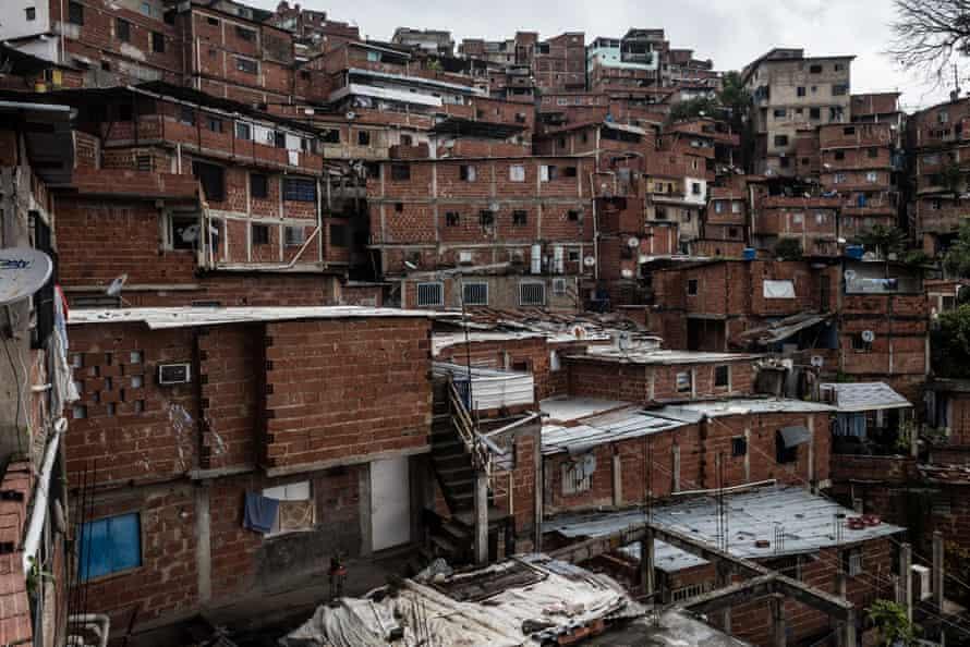 With a population of over one million people, the neighbourhood of Petare in Caracas is Venezuela's most dangerous slum