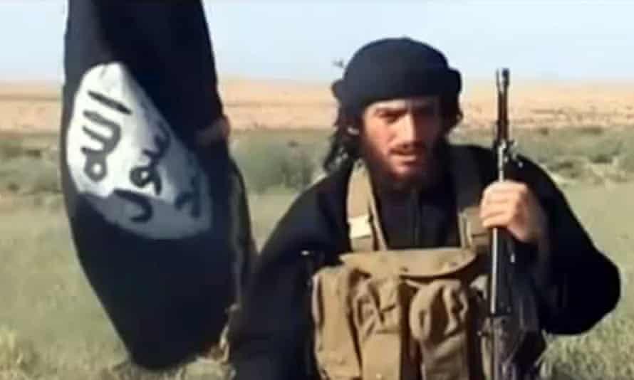 Isis spokesman Abu Mohammad al-Adnani al-Shami in a 2012 YouTube video.
