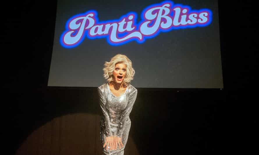 Leaves lipstick traces on both heart and mind … Panti Bliss.