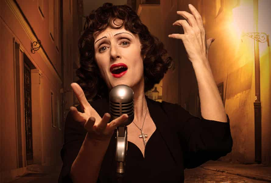 'She was the sound of the streets' … Jenna Russell as Edith Piaf.