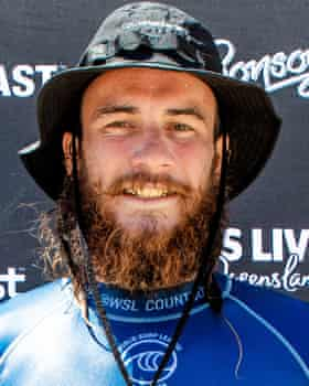 Mikey Wright waded in after seeing a woman in trouble.
