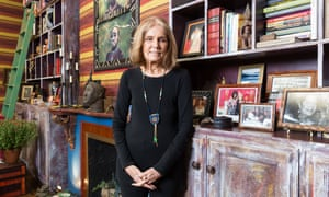 'I'm so excited by young women now': Gloria Steinem at her apartment in New York.