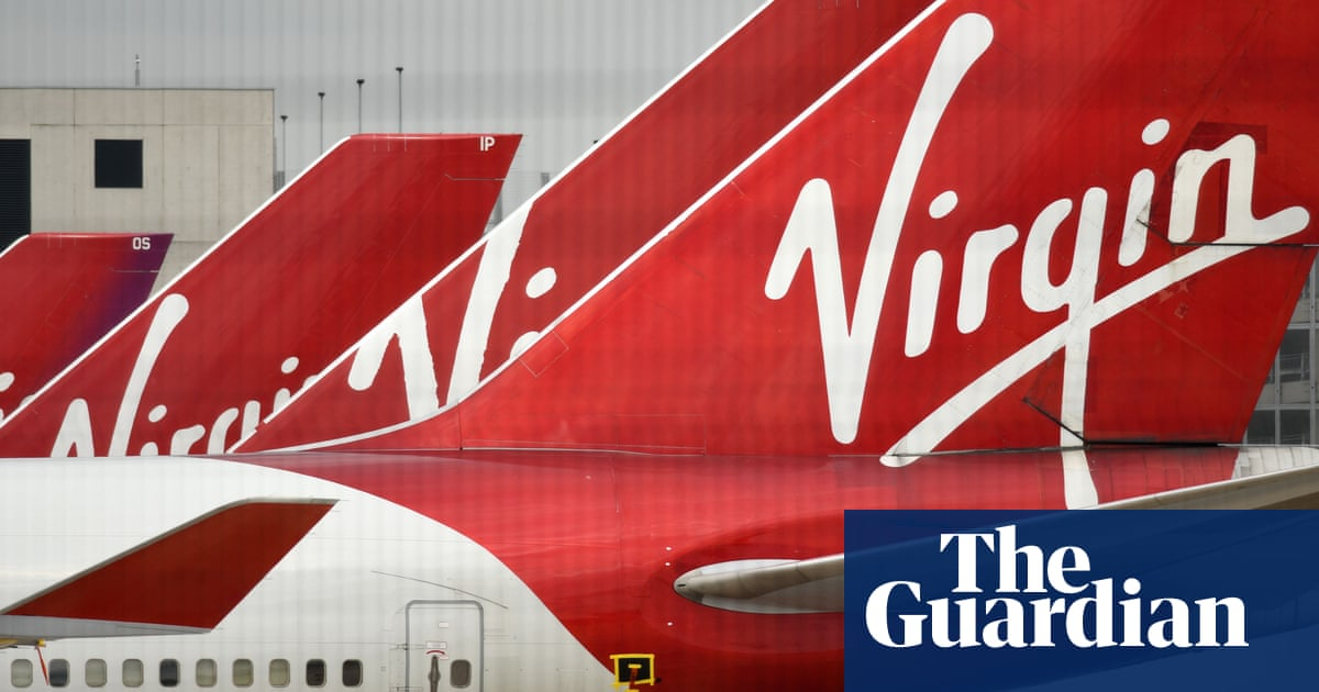 Virgin Atlantic files for bankruptcy as Covid continues to hurt airlines - The Guardian