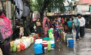 Waiting for water has become a daily part of life, with some missing out on work in anticipation of a tanker that may not arrive.