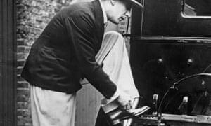 Scottish singer, dancer, producer and director, Jack Buchanan wearing Oxford 'bags' circa 1925.