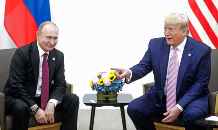 Trump jokes to Putin they should 'get rid' of journalists
