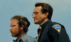 Something fishy … Dreyfuss and Roy Scheider in Jaws.