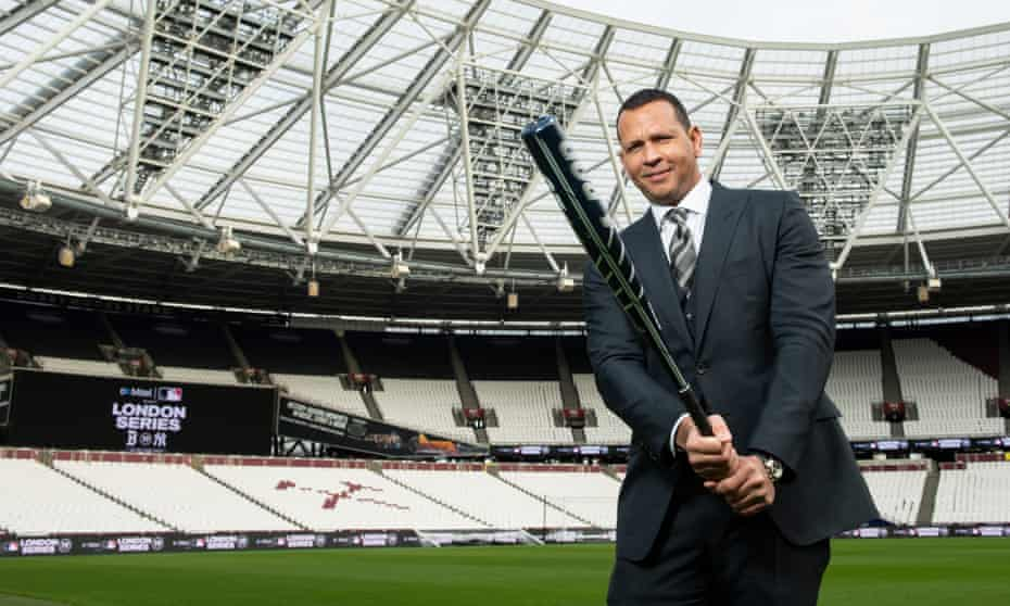 Alex Rodriguez says: 'We have to lead with our best players and start telling stories' as he helps market MLB to the UK.