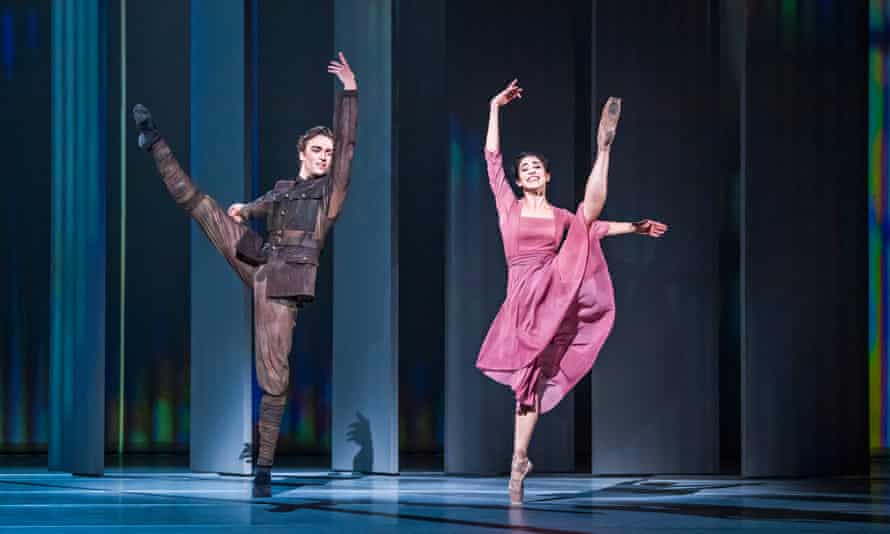 'Technically excellent': Matthew Ball and Yasmine Naghdi in The Unknown Soldier at the Royal Opera House