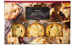 Aldi's Specially Selected All Butter Classic Mince Pies