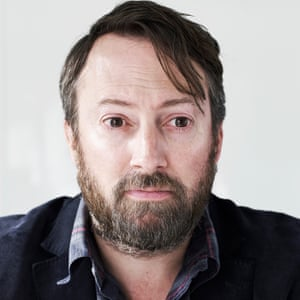Actor, comedian and author David Mitchell.