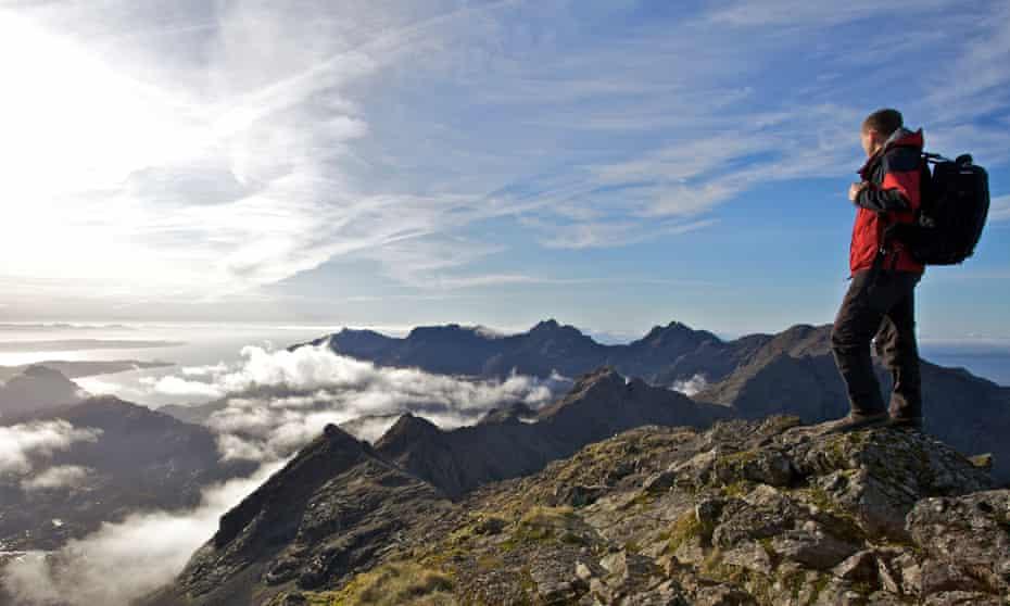 The summit of Bruach na Frithe, Isle of Skye, Scotland