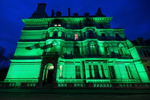 The Irish embassy in London