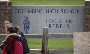 Columbine high school in 2019.