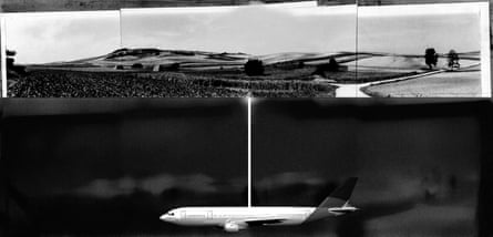 Roger Hiorns proposed Untitled (buried passenger aircraft) (2015).