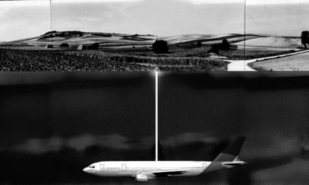 Roger Hiorns' proposal for the Untitled (Buried Aircraft) project.