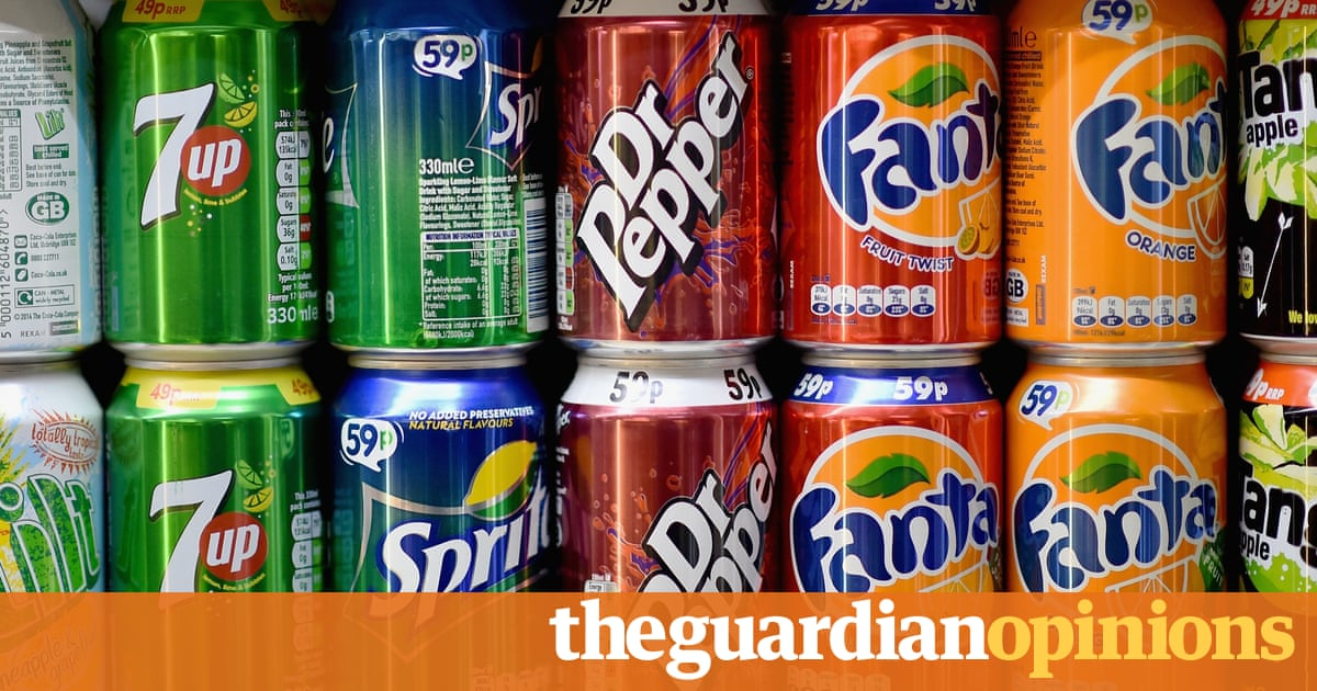 UK leads the way with its fizzy drink tax - it should cover sweets too | Patrick Collinson