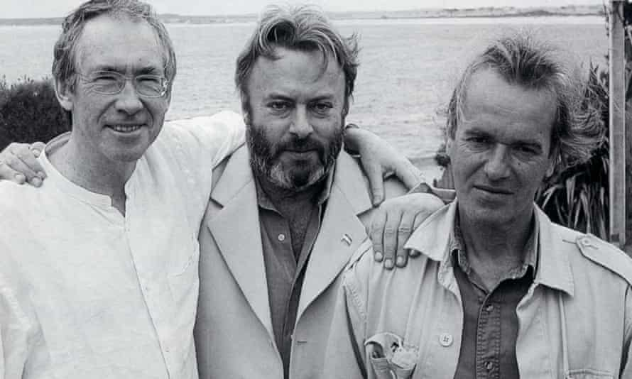 Martin Amis with Ian McEwan and Christopher Hitchens, 2004.