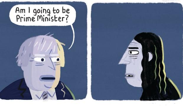 theguardian.com - Stephen Collins - Stephen Collins on Boris Johnson - cartoon