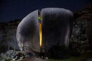 Honourable mention: Javier Urbón La Pedriza de Manzanares, Sierra de Guadarrama National Park  La Pedriza del Manzanares is a place with unlikely rock formations