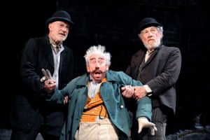 Patrick Stewart, Simon Callow and Ian McKellen in Waiting for Godot at the Theatre Royal Haymarket in 2009