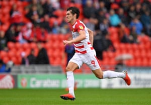 John Marquis has scored 22 goals for Doncaster this season and was the subject of a £2m bid from Sunderland last month.
