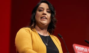 Naz Shah at the Labour party conference