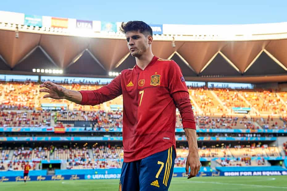 How long will Luis Enrique persevere with Alvaro Morata?