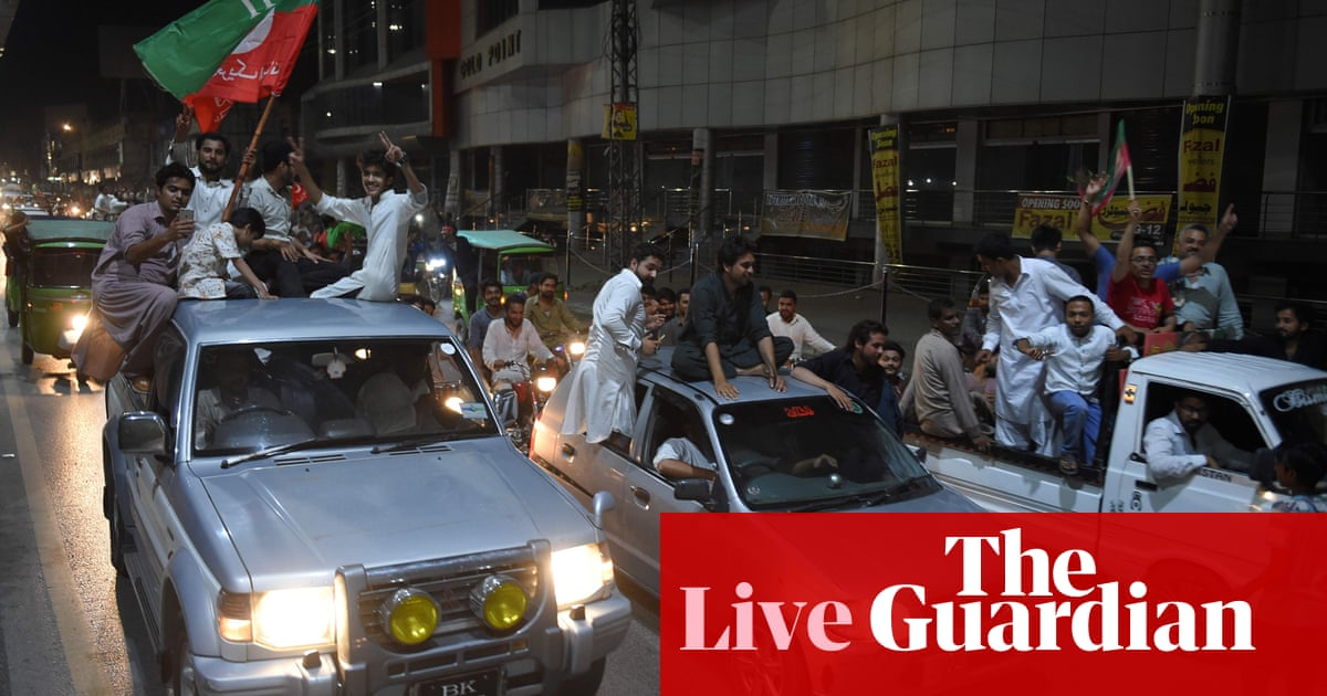Pakistan election 2018: Imran Khan claims victory – as it
