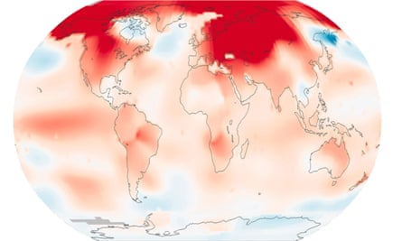 February 2016 was the warmest February in 136 years of Nasa's modern temperature records.   Global temperature records were broken throughout 2016.