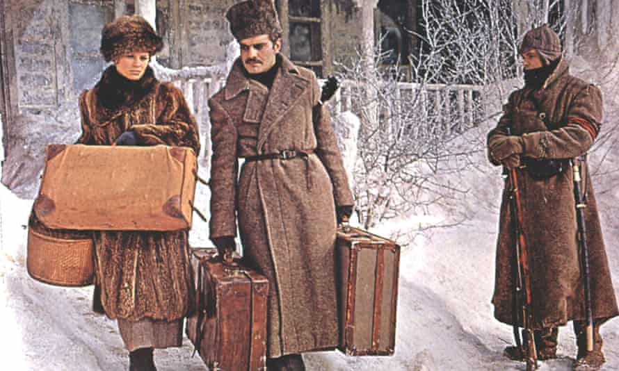 Julie Christie and Omar Sharif in Doctor Zhivago, directed by David Lean (1965).