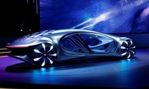 The Mercedes-Benz Vision AVTR.
