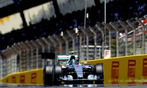 Formula One: Nico Rosberg drives at the Circuit de Catalunya. Tom Gandolfini/AFP/Getty Images