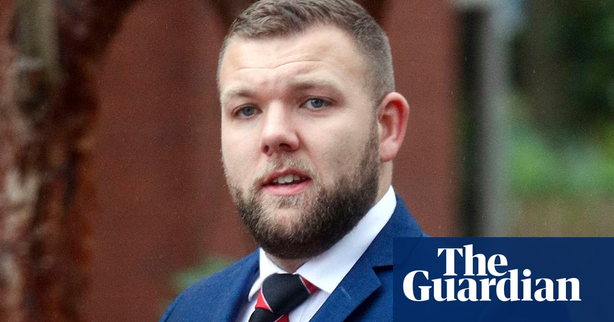 Police officer convicted of assaulting black man and 15-year-old boy