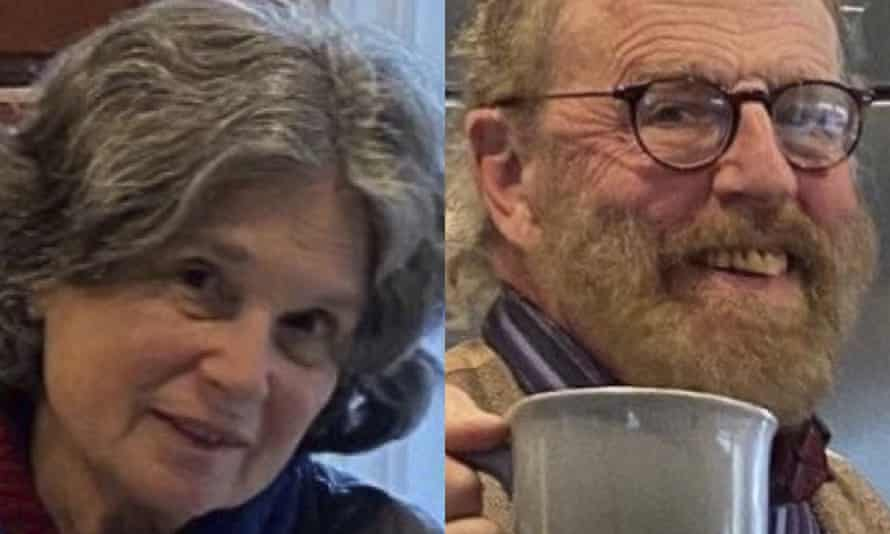 Photos released by the Marin county sheriff show Carol Kiparsky and Ian Irwin.