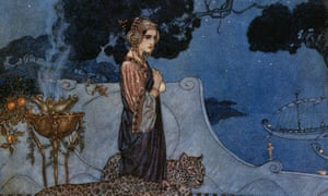 Circe (The Enchantress), 1911, by Edmund Dulac.
